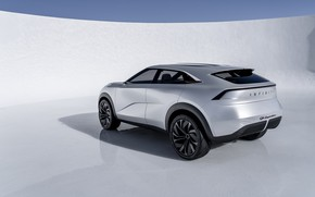 Picture Concept, Infiniti, rear view, crossover, 2019, QX Inspiration