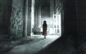 Picture Figure, Light, Girl, Girl, Light, The demon, Fantasy, Ghost, Art, Horror, Ghost, Horror, Illustration, Demon, …