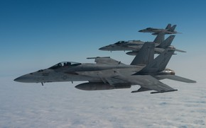 Picture Boeing, attack, US NAVY, American carrier-based fighter-bomber, F/A-18E Super Hornet