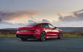 Picture Audi, RS 7, the five-door, 2020, UK version, RS7 Sportback