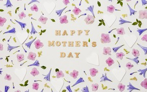 Picture flowers, background, holiday, buds, Happy, Mother's Day