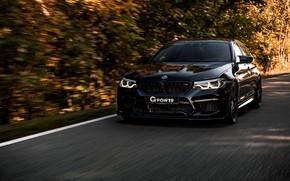 Picture black, BMW, sedan, G-Power, 2018, BMW M5, four-door, M5, V8, F90, G5M Bi-Turbo, 800 HP