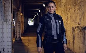 Picture corridor, form, the series, Natalie Martinez, Natalie Martinez, Teresa Murphy, police TV series, In the …