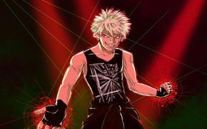 Picture My Hero Academy, My Hero Academia, Boku No Hero Academy, guy, smile, Bakuga Katsuki