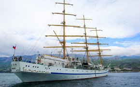 Picture frigate, sailing, training, Hersonissos