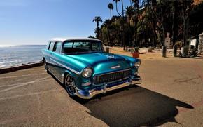 Picture Chevrolet, Car, Old, Retro, Nomad, Streetrod