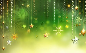 Picture decoration, graphics, New year