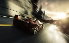 Picture Auto, Machine, Ferrari, F40, Rendering, Ferrari F40, Sports car, Blind Sarathonux, Game Art, Ferrari F-40, …