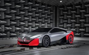 Picture coupe, BMW, 2019, Vision M NEXT Concept, acoustic anechoic chamber