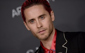 Picture look, actor, Jared Leto, handsome, beard