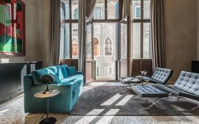 Picture design, style, room, interior, Italy, living room, Palazzo Vendramin Costa, by Zanon Architetti Associ, apartments …