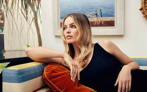 Picture look, girl, pose, blonde, beautiful, picture, Margot Robbie