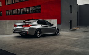 Picture the building, BMW, sedan, AC Schnitzer, four-door, M5, F90, 2019, ACS5 Sport