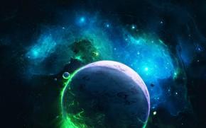 Picture Stars, Planet, Space, Nebula, The universe, Planet, Fantasy, Art, Stars, Space, Art, Satellite, Planet, Universe, …