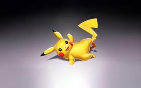 Picture Art, Smile, Pokemon, Illustration, Minimalism, Pikachu, Figure, Nick Savino