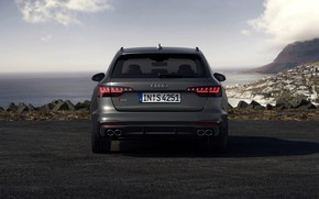 Picture Audi, rear view, universal, 2019, A4 Avant, S4 Before