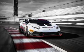Picture Lamborghini, sports car, White, Lamborghini, Huracan, Lamborghini Huracan