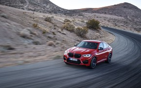 Picture machine, movement, speed, turn, BMW, crossover, Competition, X4M, F98