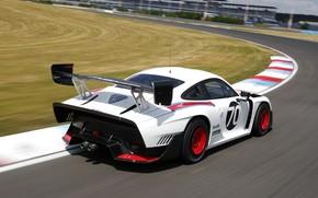 Picture Porsche, Speed, Track, Wing, 2019, Porsche 935, Porsche 935 (991)