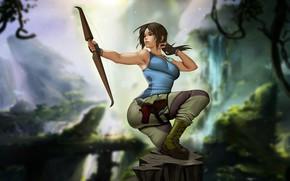 Picture Girl, Figure, Tomb Raider, Art, Beauty, Sexy, Figure, Lara Croft, Illustration, Fan Art, Character, Characters, …