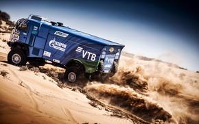 Picture Sand, Sport, Machine, Truck, Master, Russia, Kamaz, Rally, KAMAZ-master, Rally, KAMAZ, The roads, Master, 304, …