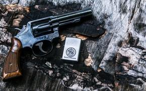 Picture Gun, Revolver, Weapon, Lighter