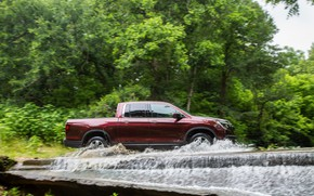 Picture water, Honda, pickup, Ridgeline, 2019