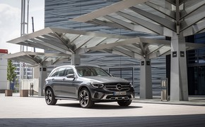 Picture photo, Mercedes-Benz, Car, Crossover, 4MATIC, GLC 300, Worldwide, 2019