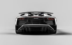 Picture Auto, Lamborghini, White, Machine, Car, Render, Design, Supercar, Aventador, Supercar, Sports car, Sportcar, LP 750-4, …