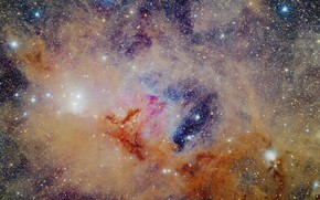 Picture space, nebula, NGC1333, IC348