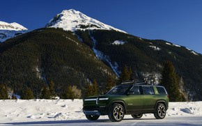 Picture mountain, top, SUV, 2019, Rivian, R1S