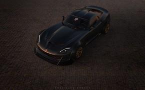 Picture Auto, Machine, Dodge, Viper GTS, Viper, Dodge Viper, GTS, Rendering, Sports car, Rostislav Prokop, by …