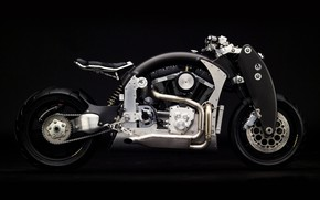 Picture motorcycle, bike, motorcycle, superbike, sportbike, Confederate b120 Wraith