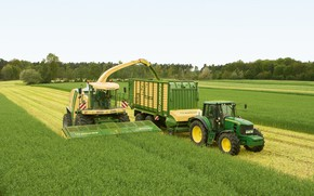 Picture tractor, agriculture, john deere, crown