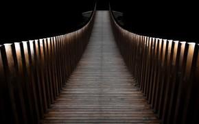 Picture light, bridge, shadow