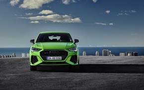 Picture Audi, front view, crossover, Sportback, 2020, RS Q3
