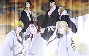 Picture guys, Bleach, Bleach, characters
