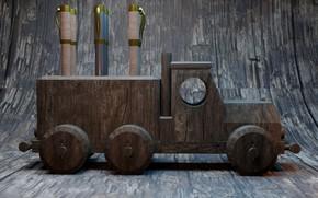 Picture Truck, handle, stand, render, AlexStormND