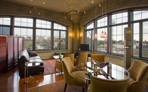 Picture style, interior, living room, Interior, Loft, loft, Old School