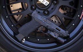 Picture background, Gun, Griffon, Mk 3, G34, X FI RONIN