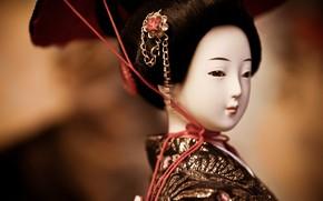 Picture Japan, doll, geisha