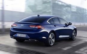 Picture back, Insignia, Opel, sedan, 2020, Insignia Grand Sport