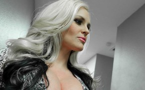 Picture blonde, pornstar, pornographic actress, pornstar, Alena Croft, Azblonde