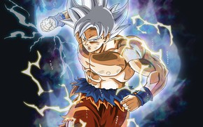 Picture background, power, guy, Dragon Ball, Dragonball