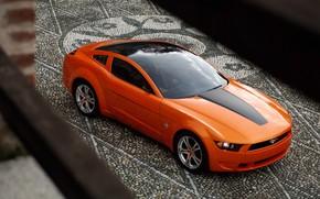 Wallpaper Concept, Mustang, Ford, Giugiaro