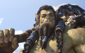 Picture Orc, Thrall, World Of Warcraft, Thrall, Axe, The battle for Azeroth, Battle for Azeroth, The …