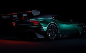 Picture Aston Martin, Auto, Green, Machine, Rendering, Concept Art, Sports car, Vulcan, Aston Martin Vulcan, Transport …
