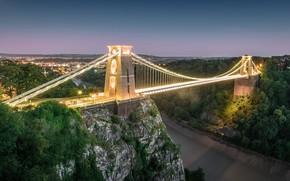 Wallpaper bridge, England, Bristol