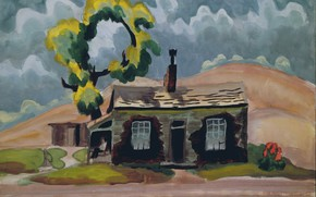 Picture 1919, Charles Ephraim Burchfield, Storm Coming Up