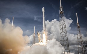 Picture rocket, the rise, rocket, spacex, falcon heavy